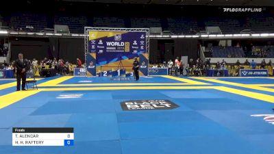 TALITA ALENCAR vs HEATHER H. RAFTERY 2019 World IBJJF Jiu-Jitsu No-Gi Championship
