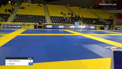 LOGAN MACDONALD vs THIAGO FRAZÃ 2020 Pan Kids Jiu-Jitsu IBJJF Championship
