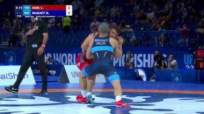 67 kg Round Of 16 - Serhat Kirik, TUR vs Muslim Imadaev, RUS
