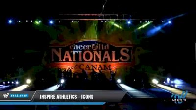 Inspire Athletics - Icons [2021 L6 Senior - XSmall Day 2] 2021 Cheer Ltd Nationals at CANAM