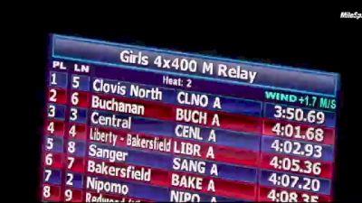 Boys' 4x400m Relay, Finals 1