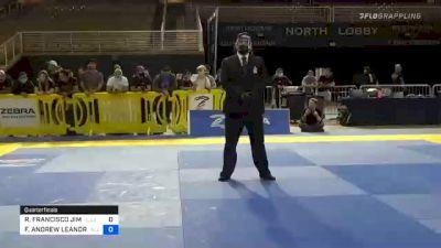 ROBERTO FRANCISCO JIMENEZ vs FELLIPE ANDREW LEANDRO SILVA 2020 Pan Jiu-Jitsu IBJJF Championship