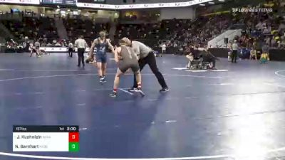 157 lbs Prelims - Jayce Kuehnlein, Alma College vs Nick Barnhart, Messiah University