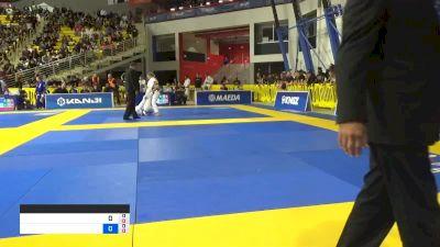 CHARLOTTE VON vs CATHERINE FUHRO 2019 World Jiu-Jitsu IBJJF Championship