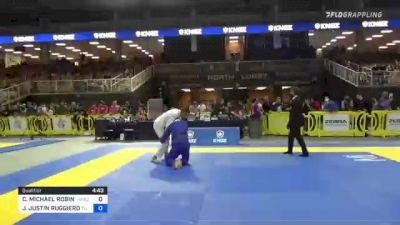 CHRISTOPHER MICHAEL ROBINSON vs JOSEPH JUSTIN RUGGIERO 2021 Pan Jiu-Jitsu IBJJF Championship