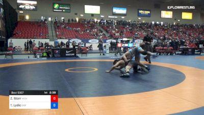 70 kg Cons 32 #2 - Zehlin Storr, Michigan Revolution vs Ty Lydic, Griffin Wrestling Club