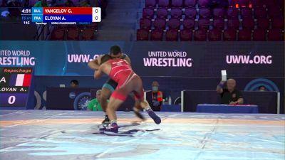 61 kg Repechage #3 - Georgi Vangelov, Bulgaria vs Arman Eloyan, France