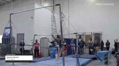 Serena Klarich - Bars, Texas Dreams - 2021 Region 3 Women's Championships