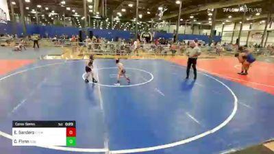 40 lbs Consolation - Emery Sanders, Rhyno Academy Of Wrestling vs Connor Flynn, Summit Wrestling Academy