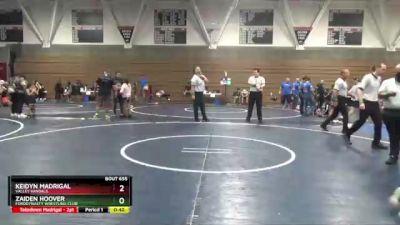 67 lbs Round 3 - Keidyn Madrigal, Valley Vandals vs Zaiden Hoover, FordDynasty Wrestling Club