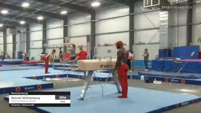 Donnell Whittenburg - Pommel Horse, Salto Gymnastics Center - 2021 April Men's Senior National Team Camp