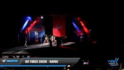Hit Force Cheer - Havoc [2021 L2 Senior - D2 - Medium Day 2] 2021 ASCS: Tournament of Champions & All Star Prep Nationals
