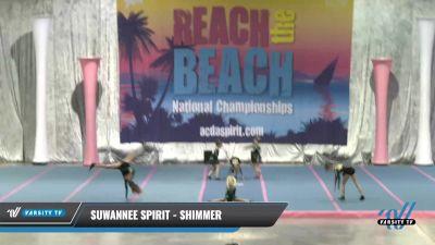 Suwannee Spirit - Shimmer [2021 L1.1 Youth - PREP] 2021 Reach the Beach Daytona National