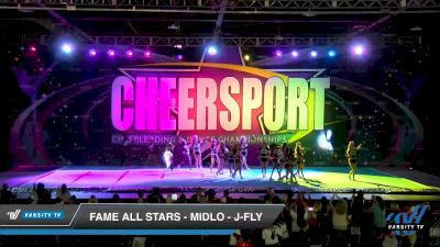 FAME All Stars - Midlo - J-Fly [2020 Junior Coed Small 6 Day 2] 2020 CHEERSPORT National Cheerleading Championship