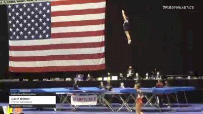 Gavin Britton - Individual Trampoline, Premier Gymnastics - 2021 USA Gymnastics Championships