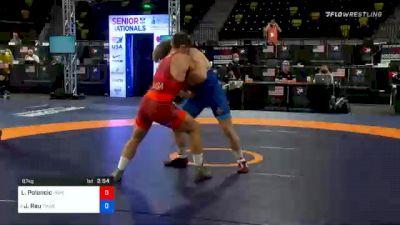 87 kg Quarterfinal - Lukas Poloncic, Unattached vs Josef Rau, TMWC/IRTC