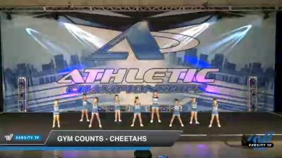 Gym Counts - Cheetahs [2021 L1 Youth - D2 Day 2] 2021 Athletic Championships: Chattanooga DI & DII