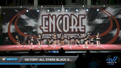 Victory! All Stars Black Diamonds [2021 L4 Senior - D2 Day 2] 2021 Encore Championships: Charlotte Area DI & DII