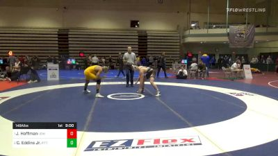 Prelims - Jimmy Hoffman, Lehigh vs Chris Eddins Jr., Pitt Johnstown