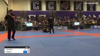 Pablo Dutra vs Ian Sanders 2018 Pan Jiu-Jitsu IBJJF No Gi Championship