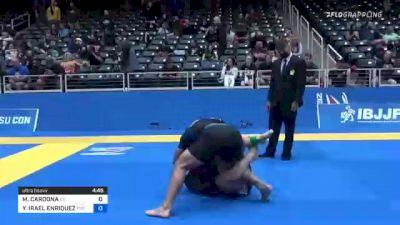 MATEO CARDONA vs YURIEL IRAEL ENRIQUEZ 2021 World IBJJF Jiu-Jitsu No-Gi Championship