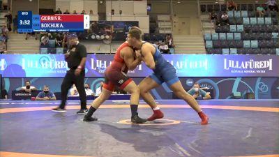 110 kg Final 3-5 - Rafail Gkirnis, Greece vs Artur Boichuk, Ukraine