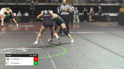 123 lbs Final - Allie Mahoe, Schreiner University - W vs Mariah Annis, Umpqua Community College