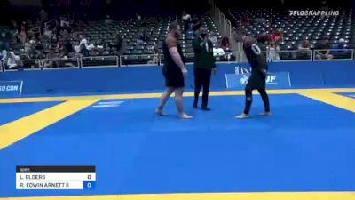 LUKE ELDERS vs ROBERT EDWIN ARNETT II 2021 World IBJJF Jiu-Jitsu No-Gi Championship