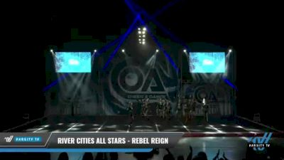 River Cities All Stars - Rebel Reign [2021 L6 Senior Coed Open - Small Day 2] 2021 COA: Midwest National Championship