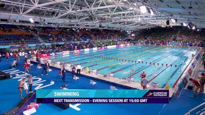 2018 European Swimming Championship Finals, Day 4
