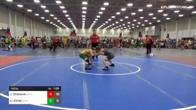145 lbs Rr Rnd 2 - Julian Chlebove, Dark Knights vs Kolby Allred, Team Powerhouse Hs