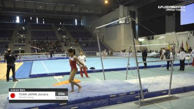 Team Japan Juniors - Bars, Official Training - 2019 City of Jesolo Trophy