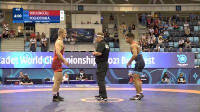 65 kg 1/8 Final - Jadon William SKELLENGER, United States vs Ashot Armen Poghosyan, Bulgaria