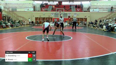 132 lbs Semifinal - Colton Stoneking, Waynesburg vs Braden Bower, Williamsport