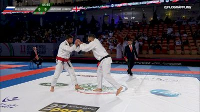 Muslim Patsarigov vs Antonio Junior Abu Dhabi World Professional Jiu-Jitsu Championship