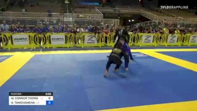 WILLIAM CONNOR THOMAS vs HOOMAUIKAIKAOLAOKAMA TAMEHAMEHA 2021 Pan Kids Jiu-Jitsu IBJJF Championship