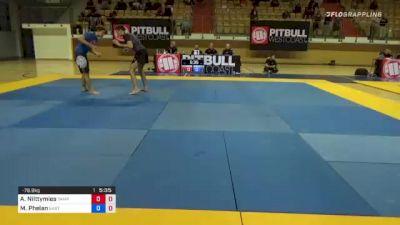 Aleksi Niittymies vs Marcus Phelan 1st ADCC European, Middle East & African Trial 2021