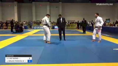 VINICIUS LINO WONG vs JOSE BRUNO PEREIRA MATIAS 2021 American National IBJJF Jiu-Jitsu Championship