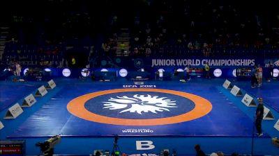 Replay: Mat B - 2021 Junior World Championships | Aug 21 @ 11 AM