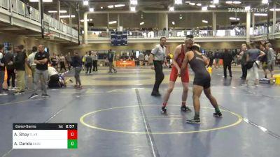 Consolation - Avery Shay, Clarion-Unattached vs Alex Carida, Bloomsburg