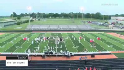 Gold - San Diego CA at 2021 DCI Cape Girardeau