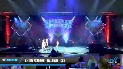 Cheer Extreme - Raleigh - SSX [2021 L6 Senior - Small Day 1] 2021 Spirit Sports: Battle at the Beach