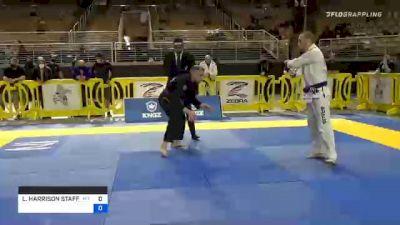 LUKE HARRISON STAFFORD vs THOMAS M WORTMAN 2020 World Master IBJJF Jiu-Jitsu Championship