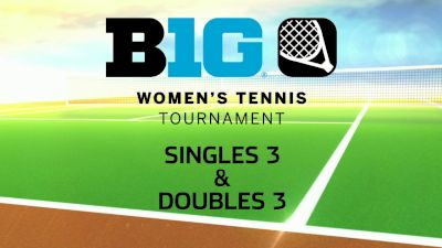 Full Replay - 2019 B1G Tennis Championship | Big Ten Women's Tennis - Singles 3 and Doubles 3 - Apr 28, 2019 at 12:55 PM EDT