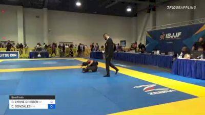 RITA LYNNE GRIBBEN vs CHRISTINA GONZALES 2021 American National IBJJF Jiu-Jitsu Championship