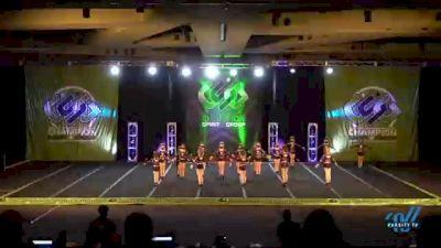 Titanium Force Cheer - Sirens [2021 L2 Junior - D2 - Small - B Day 3] 2021 CSG Super Nationals DI & DII