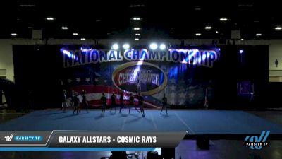 Galaxy AllStars - Cosmic rays [2021 L4 Senior - D2 Day 2] 2021 ACP: Tournament of Champions