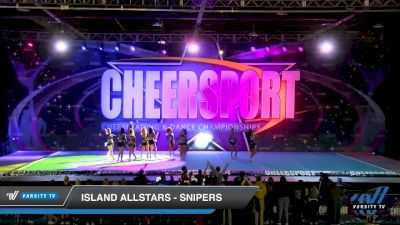 Island Allstars - 5nipers [2020 Senior XSmall 6 Division A Day 2] 2020 CHEERSPORT National Cheerleading Championship