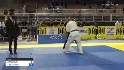 ISRAEL ISALES JR. vs RAYMOND ALAN HOM 2021 Pan Jiu-Jitsu IBJJF Championship