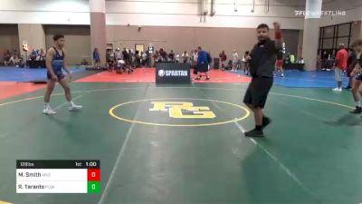 126 lbs Consolation - Raymond ?Blaine? Taranto, Florida vs Martin Smith, Arizona
